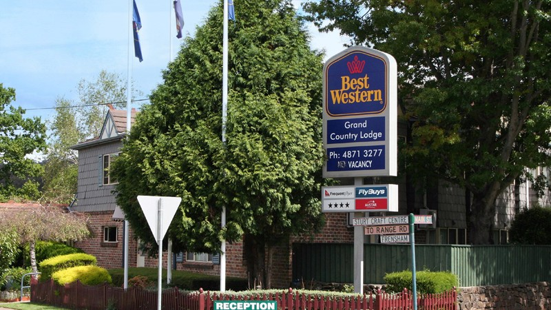Best Western Grand Country Lodge - Australia Accommodation
