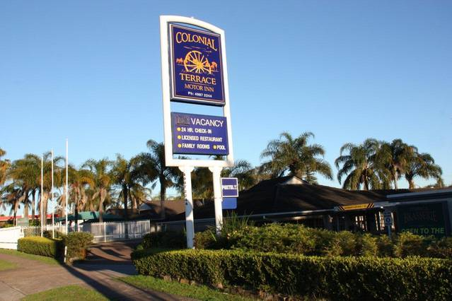 Colonial Terrace Motor Inn - Australia Accommodation