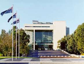 High Court of Australia Parkes Place - Australia Accommodation