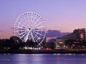 The Wheel of Brisbane - Australia Accommodation