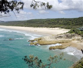 Main Beach North Stradbroke Island - Australia Accommodation