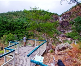 Jourama Falls Paluma Range National Park - Australia Accommodation
