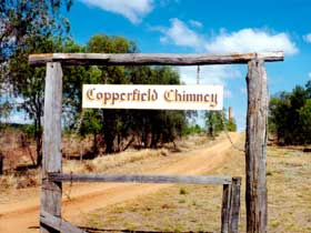 Copperfield Store and Chimney - Australia Accommodation