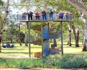 Darling and Murray River Junction and Viewing Tower - Australia Accommodation