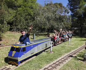 Willans Hill Miniature Railway - Australia Accommodation