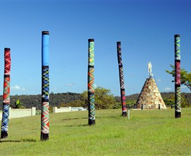 Maclean Tartan Power Poles - Australia Accommodation