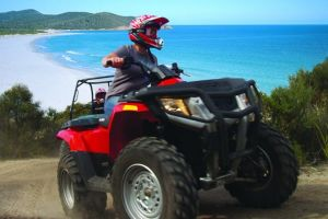 Half-Day Guided ATV Exploration Tour from Coles Bay - Australia Accommodation