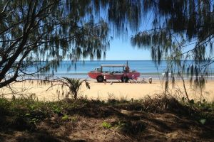 1770 Coastline Tour by LARC Amphibious Vehicle Including Picnic Lunch - Australia Accommodation