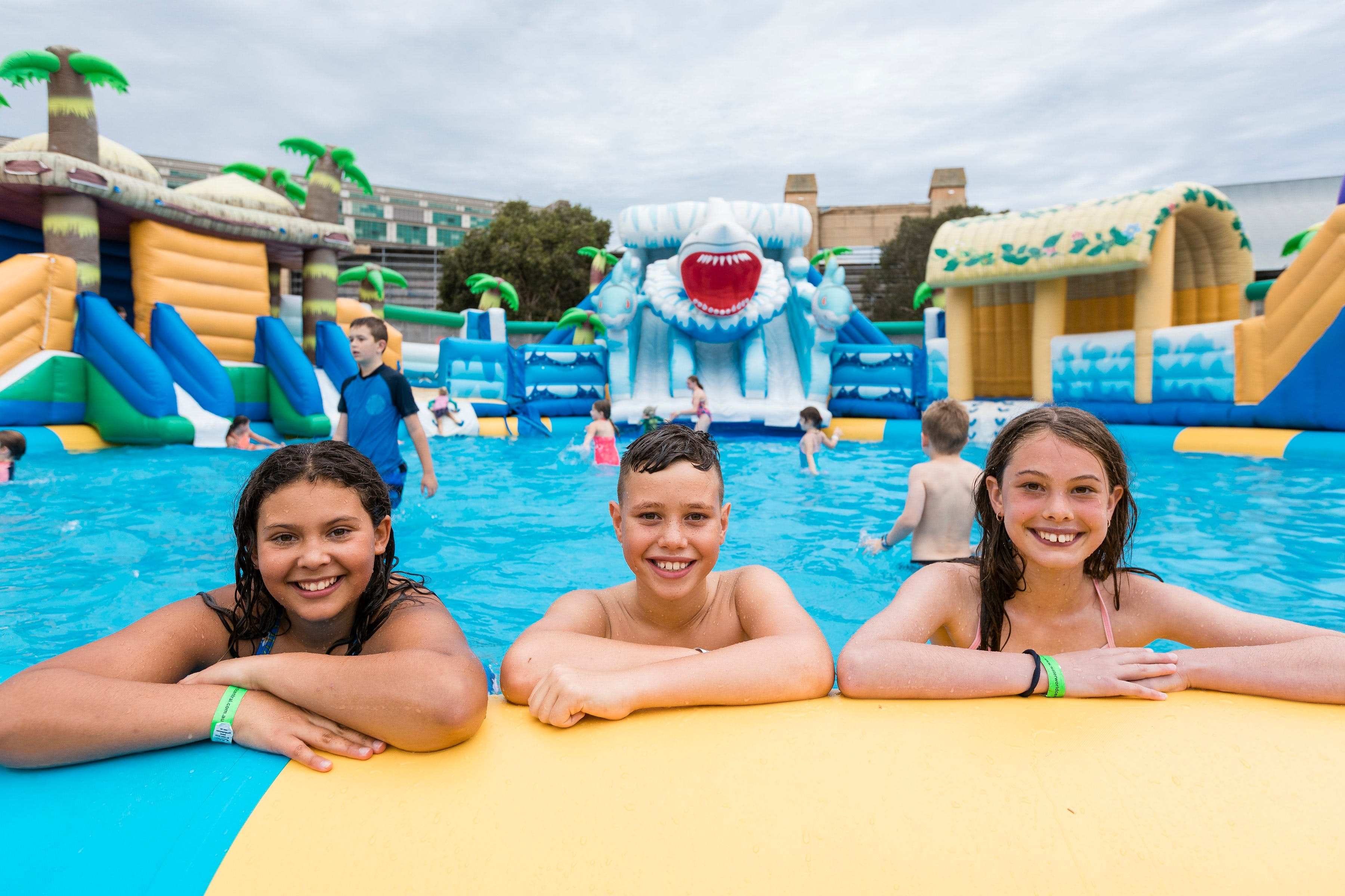 Waterworld Central - Mobile Inflatable Waterpark - Australia Accommodation