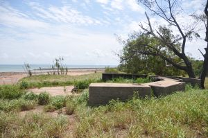 WWII Gun Emplacement Wagait Beach - Australia Accommodation