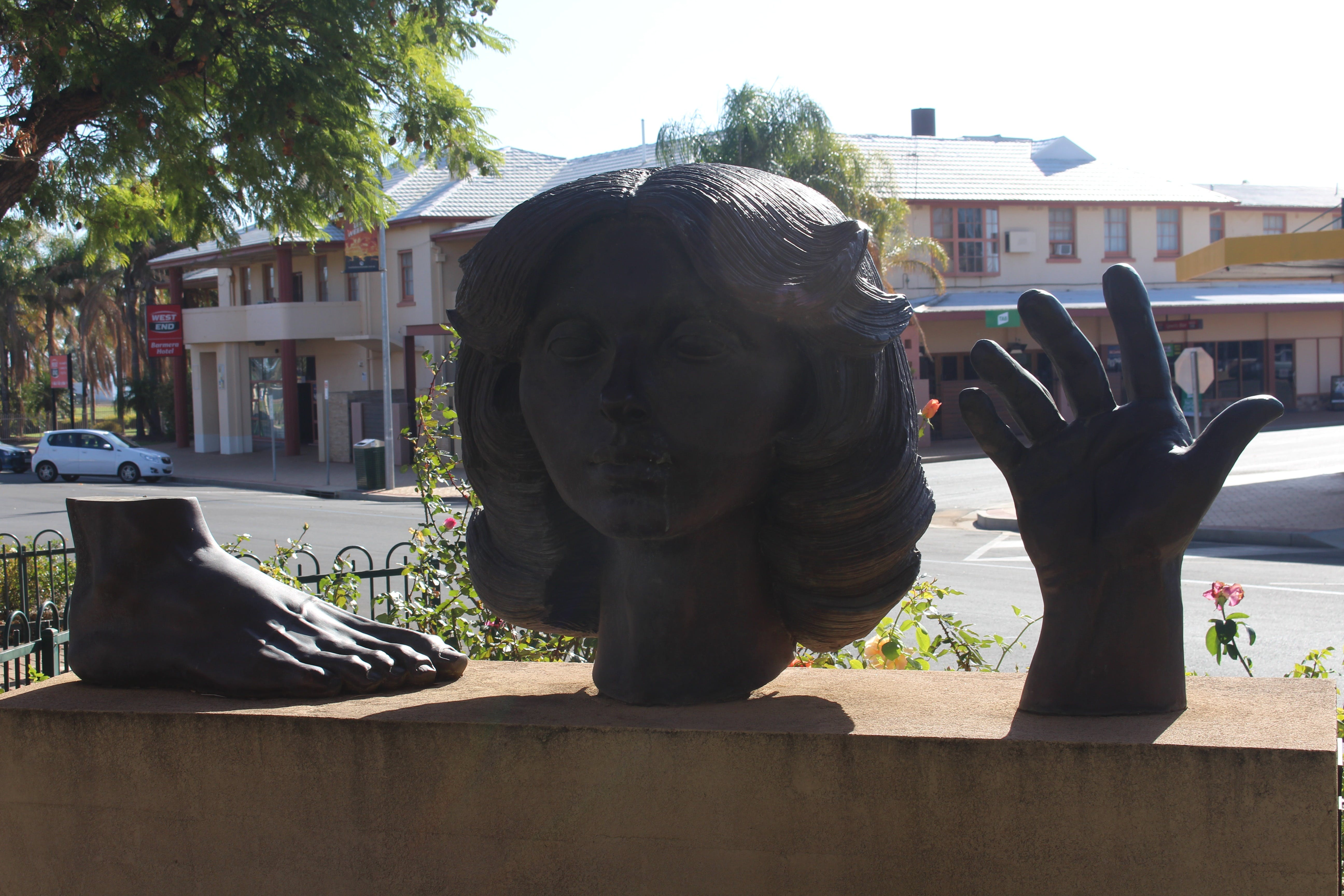 Celebration of life statue Barmera - Australia Accommodation