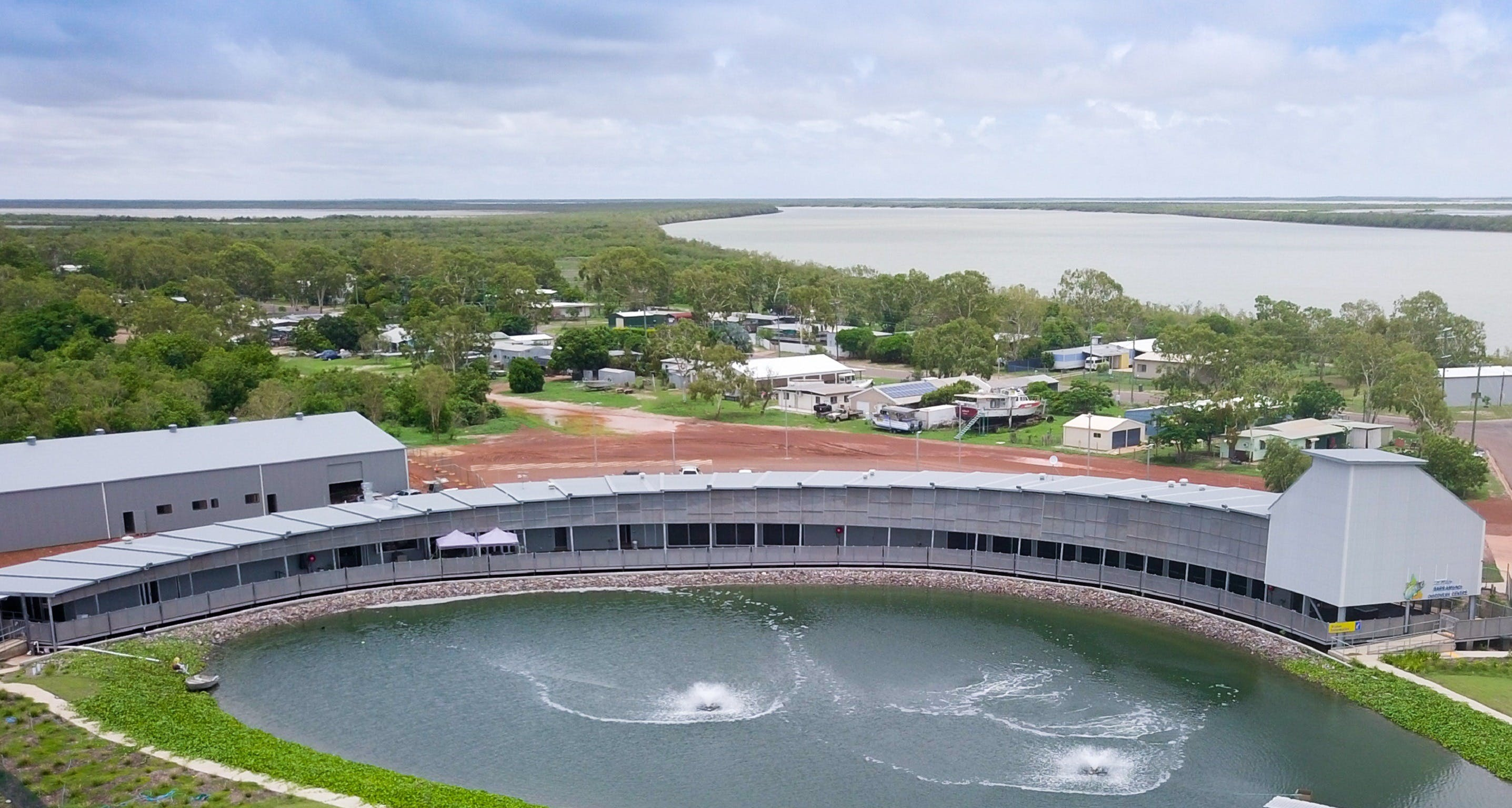 Les Wilson Barramundi Discovery Centre - Australia Accommodation