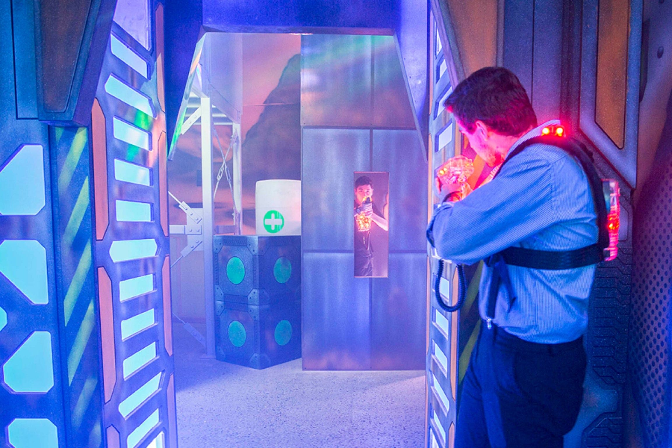 Kingpin Macarthur Square Laser Tag - Australia Accommodation