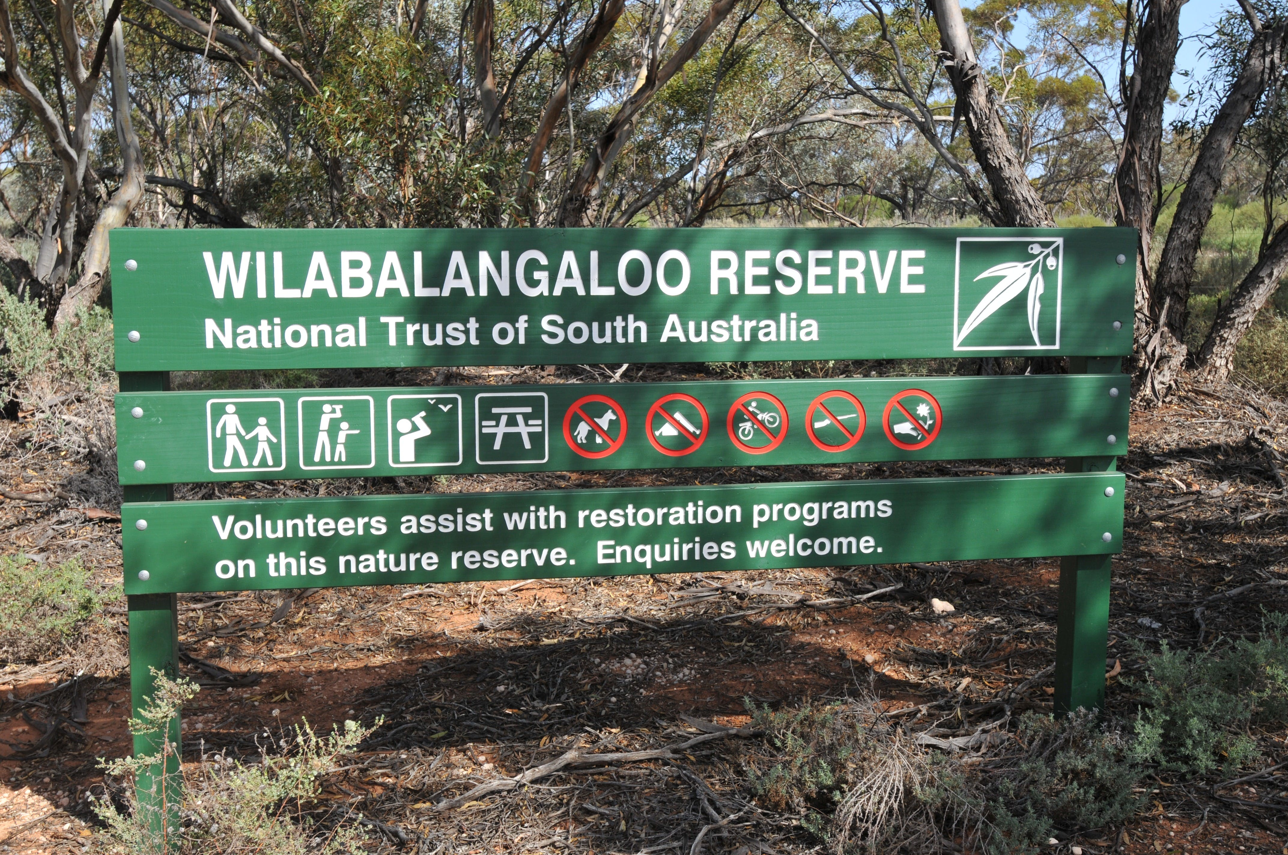 Wilabalangaloo Reserve - Australia Accommodation