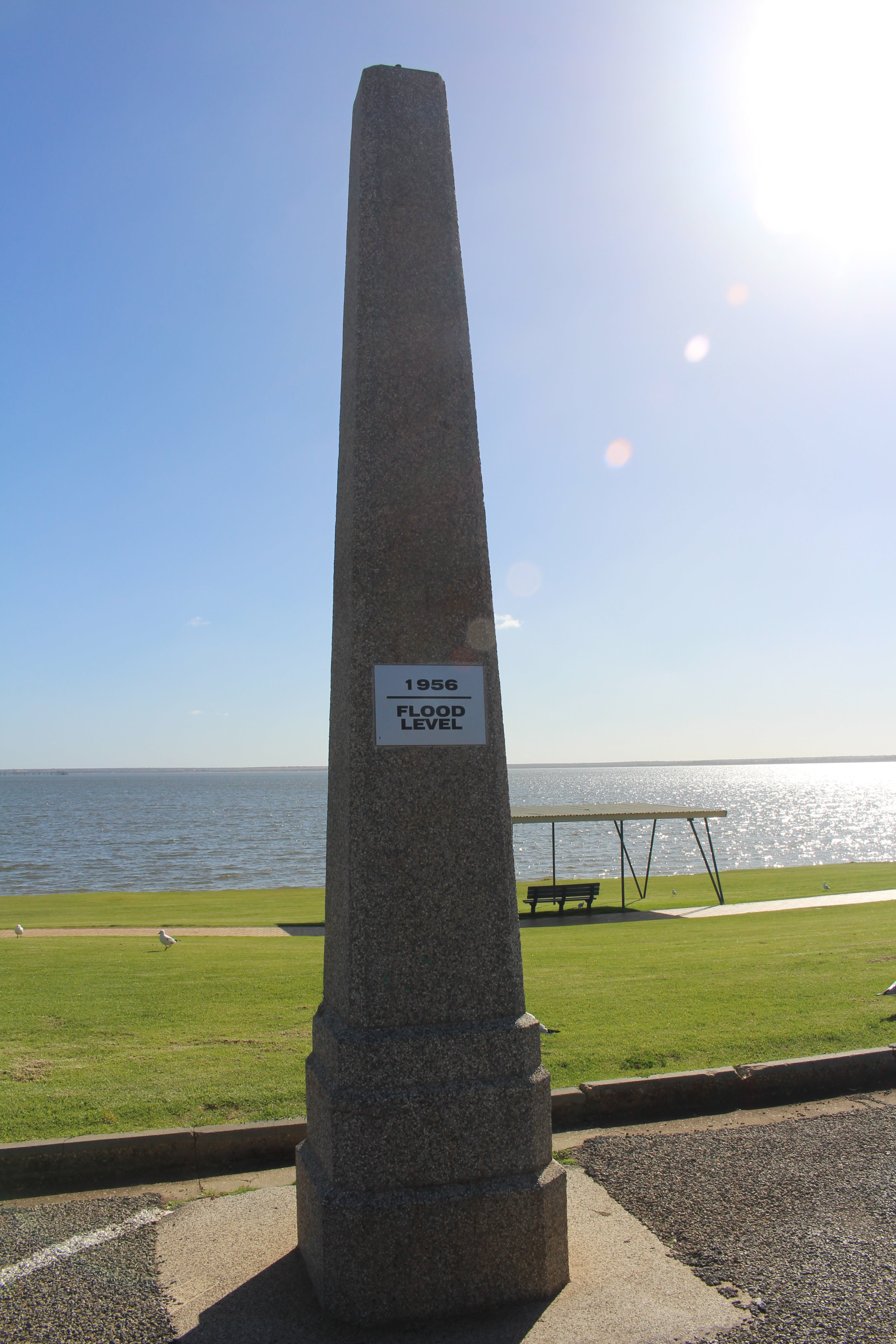 1956 Flood Marker - Australia Accommodation