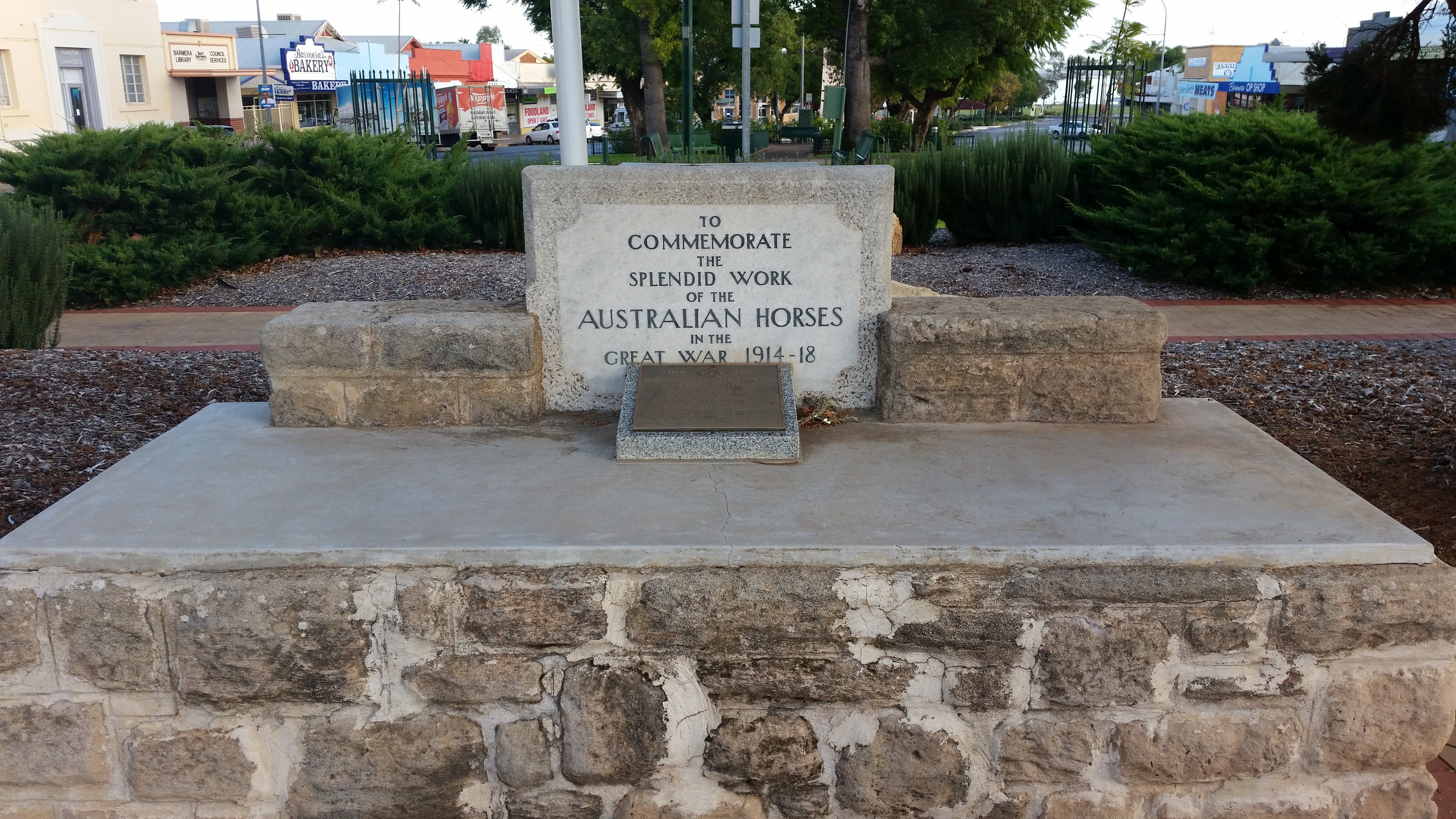 Barmera Horse Trough - Australia Accommodation