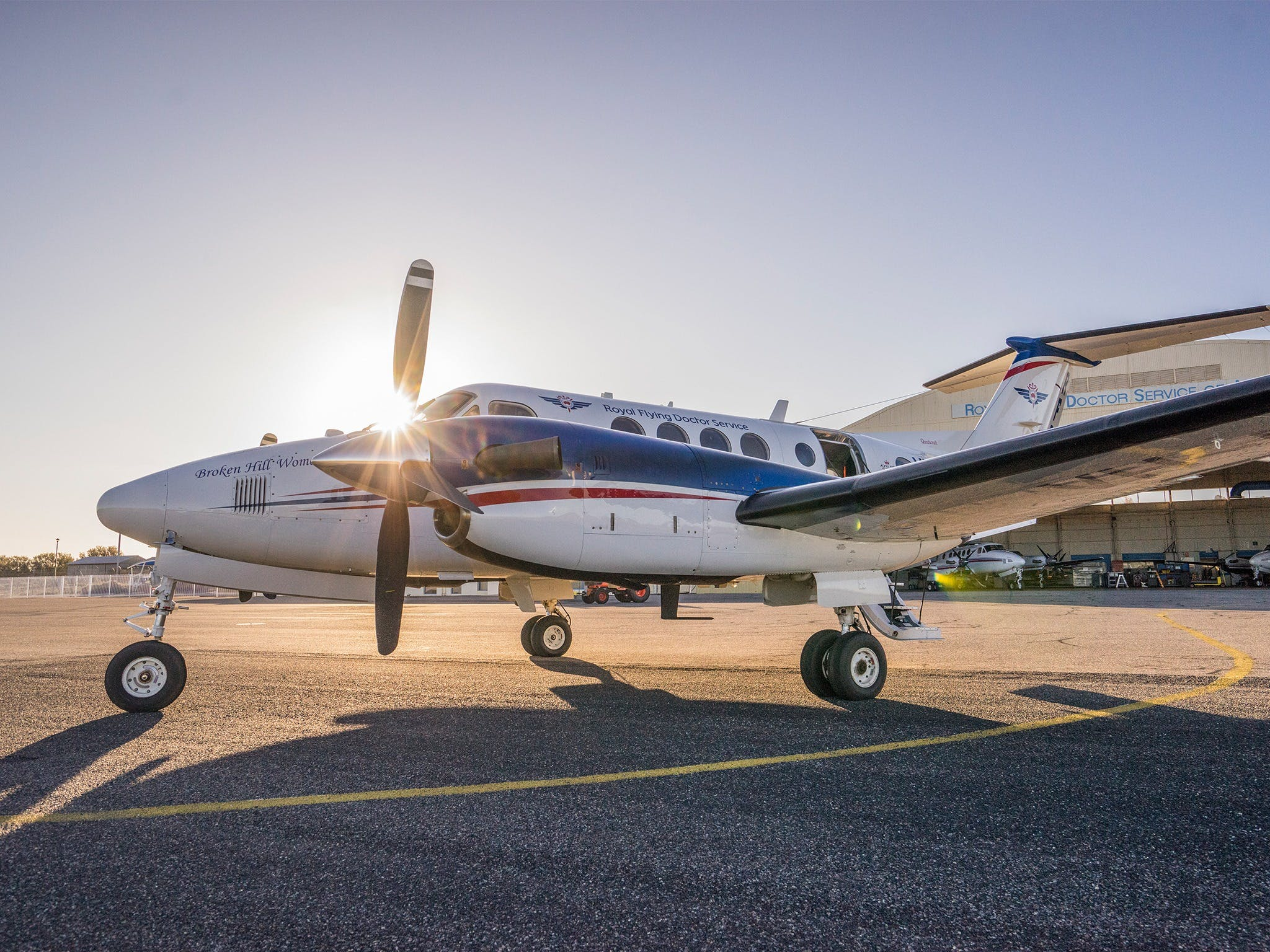 The Royal Flying Doctor Service Outback Experience in Broken Hill - Australia Accommodation