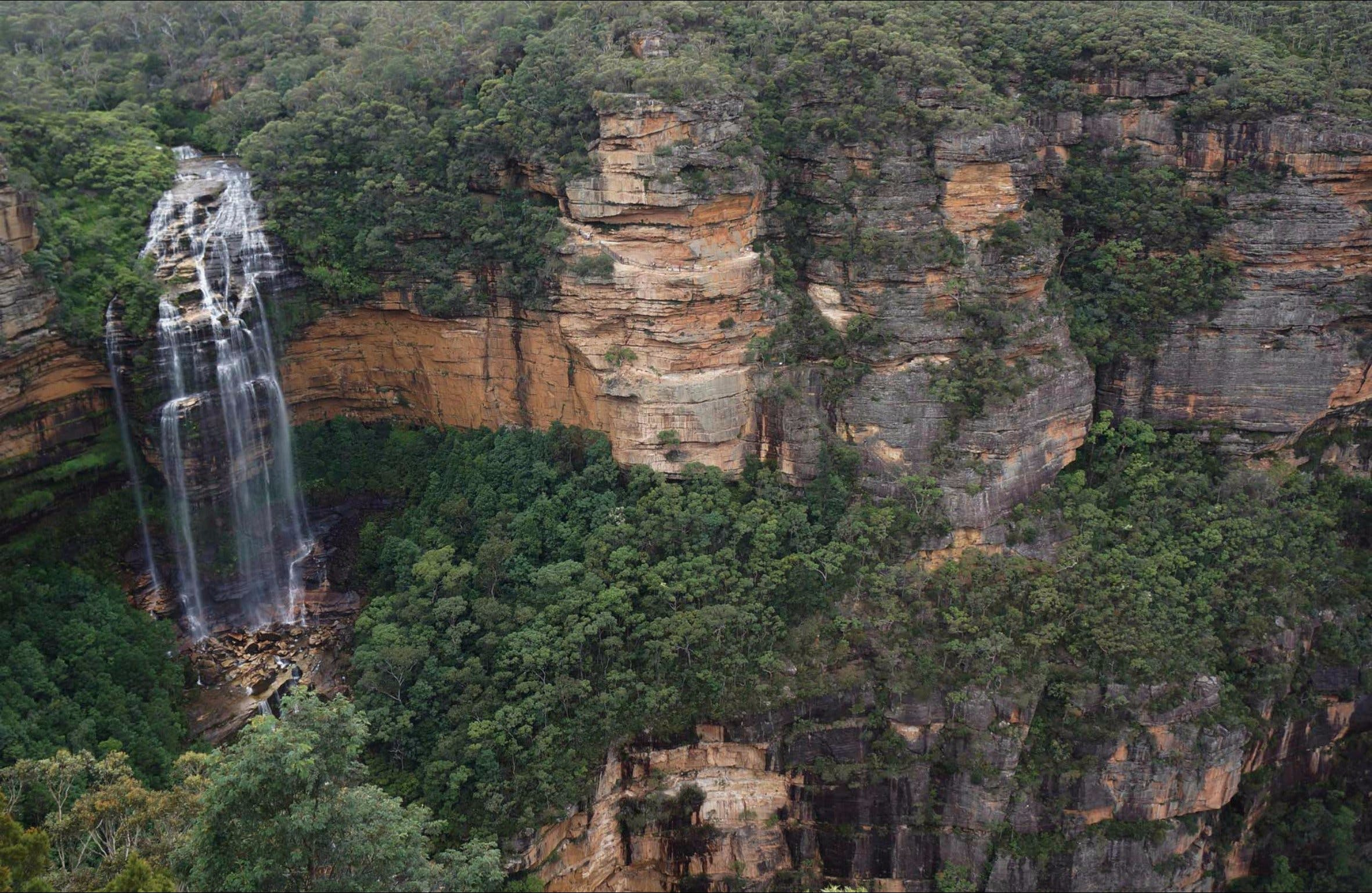 Wentworth Falls Lookout - Australia Accommodation
