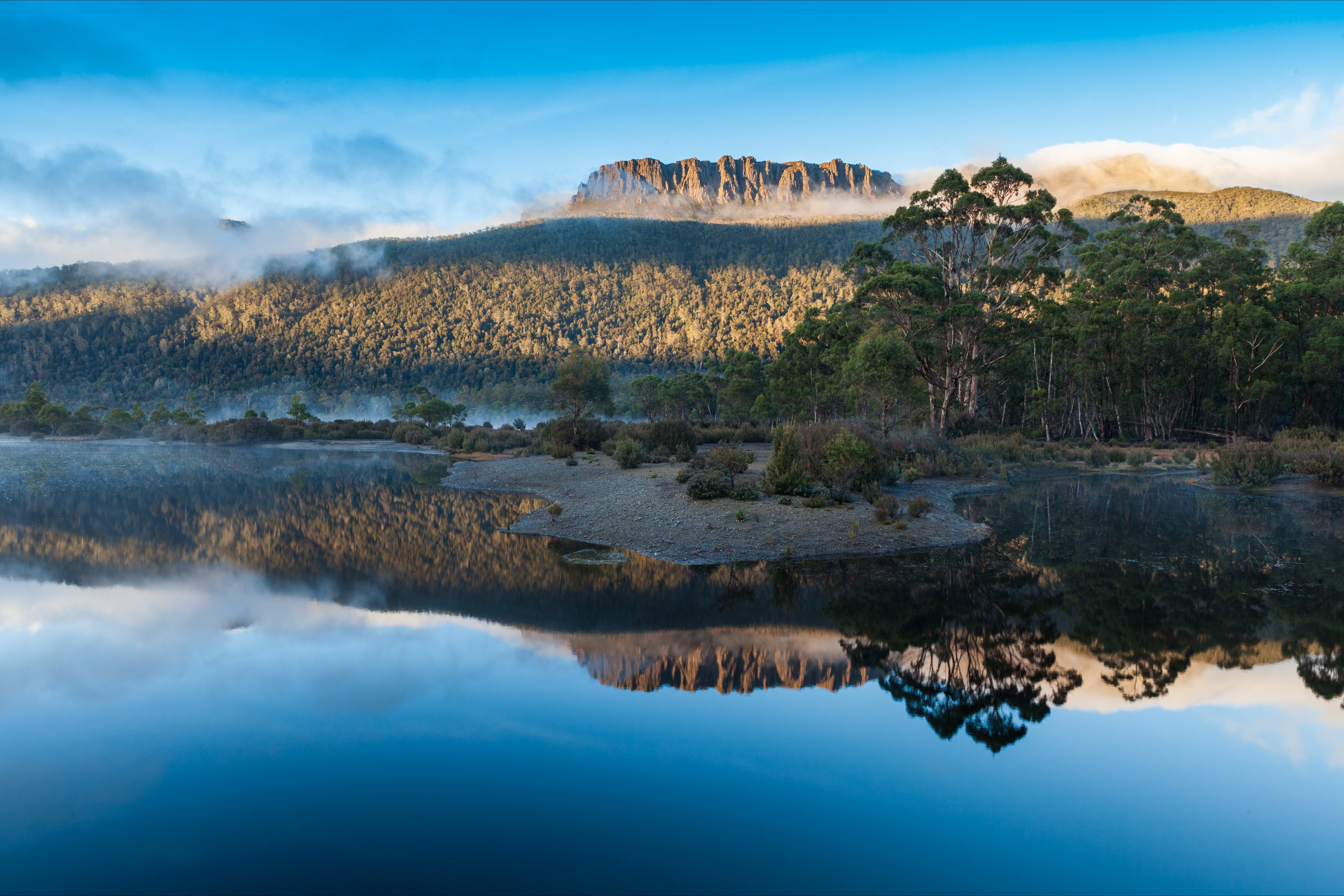 Lake St Clair Cradle Mountain  - Lake St Clair National Park - Australia Accommodation