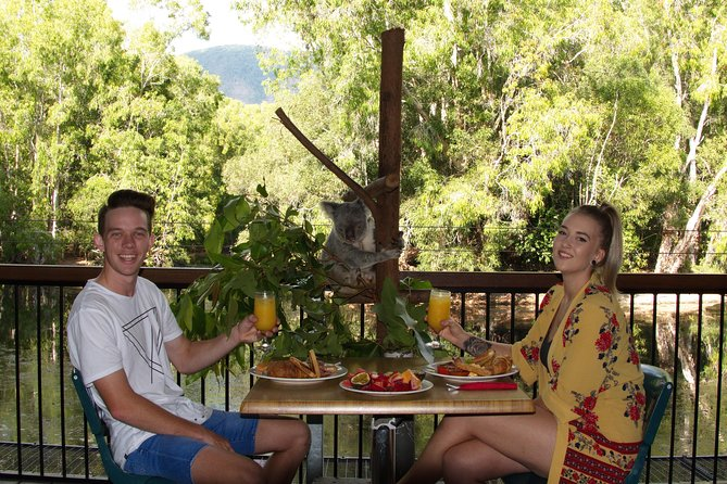 Hartley's Crocodile Adventures Entry Ticket and Breakfast with the Koalas - Australia Accommodation