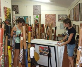 Top Didj and Art Gallery - Australia Accommodation