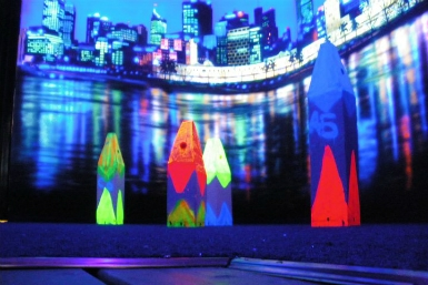 Family Fun Centres Black Light Mini Golf - Australia Accommodation
