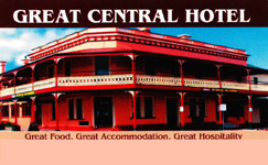Great Central Hotel - Australia Accommodation