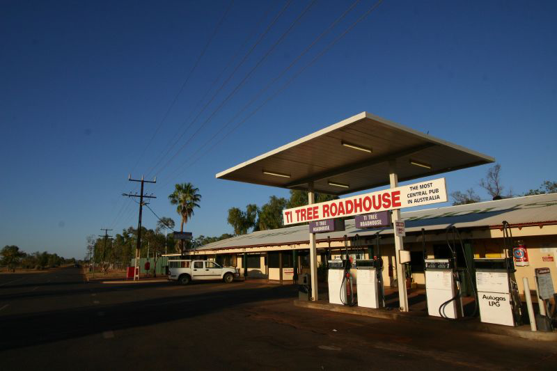 Ti Tree Roadhouse - Australia Accommodation