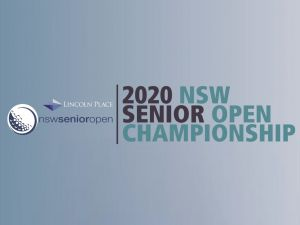 Men's NSW Senior Open - Australia Accommodation