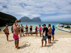 Ocean Swim Week with Trevor Hendy Pinetrees Lord Howe Island - Australia Accommodation