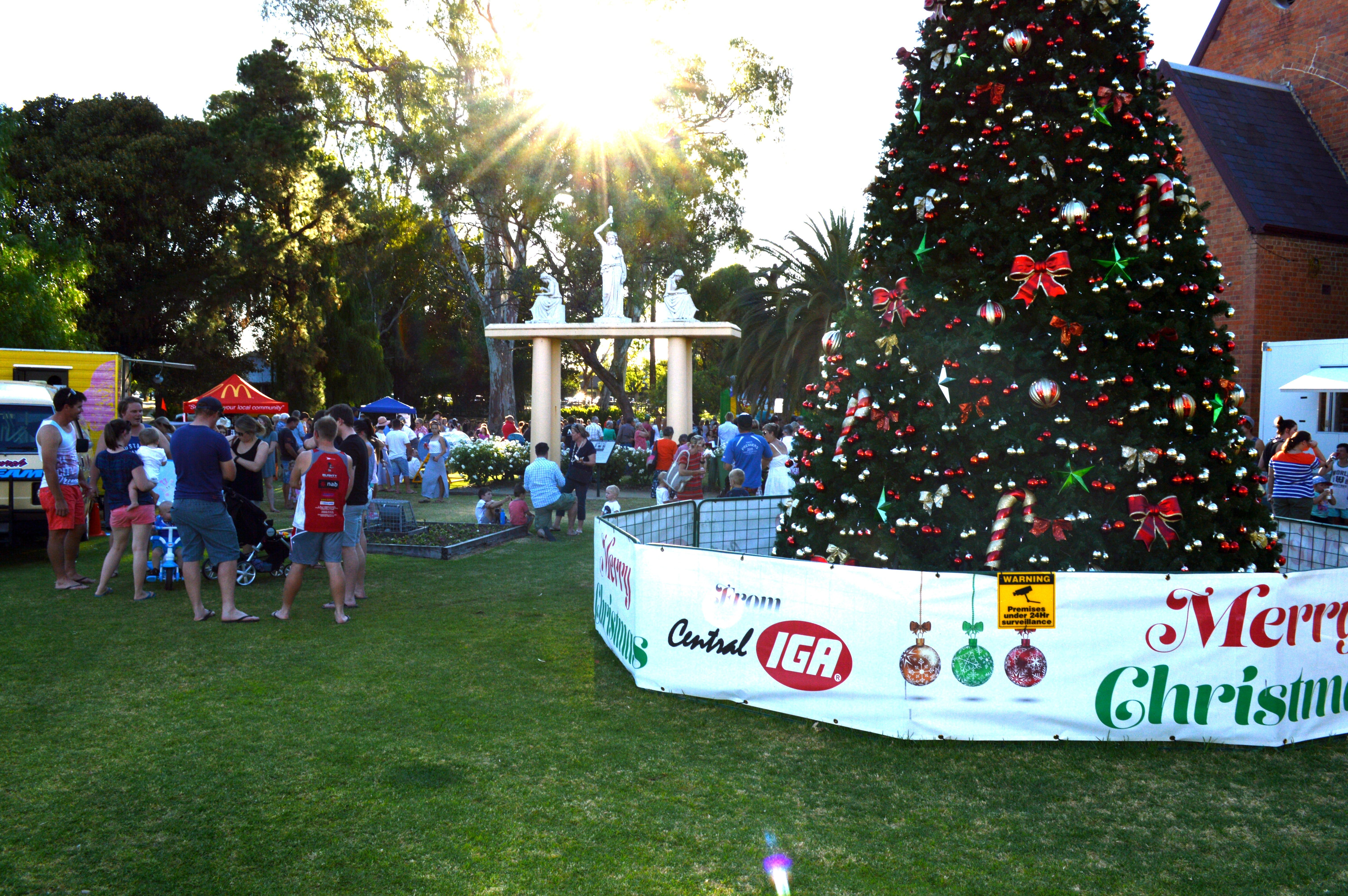 Community Christmas Party and Carols by Candlelight - Australia Accommodation