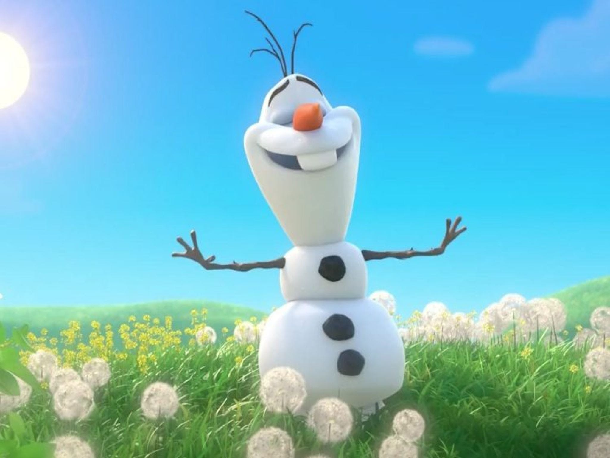 Meet Olaf from Frozen - Australia Accommodation