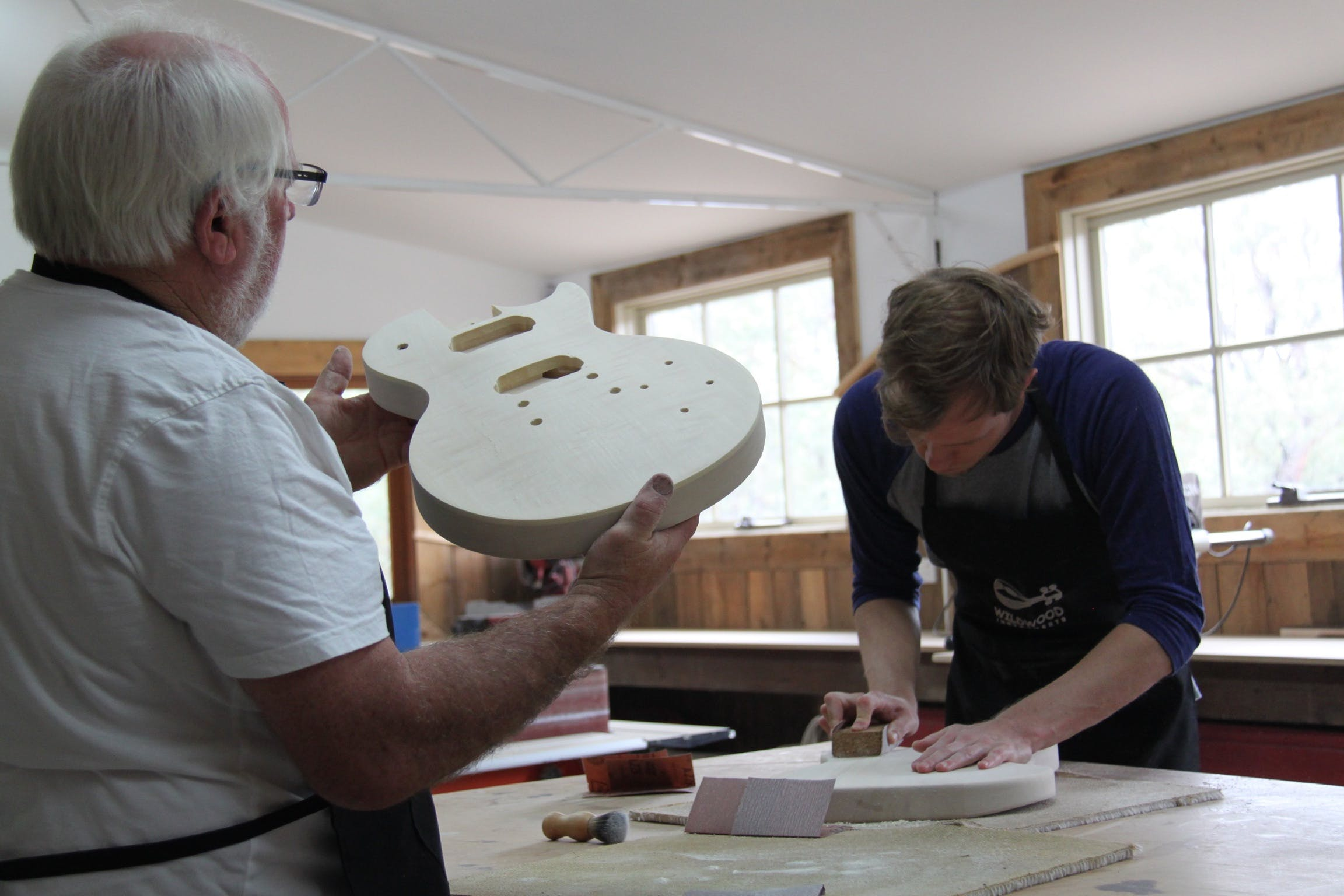 Electric Guitar Making Courses - Australia Accommodation