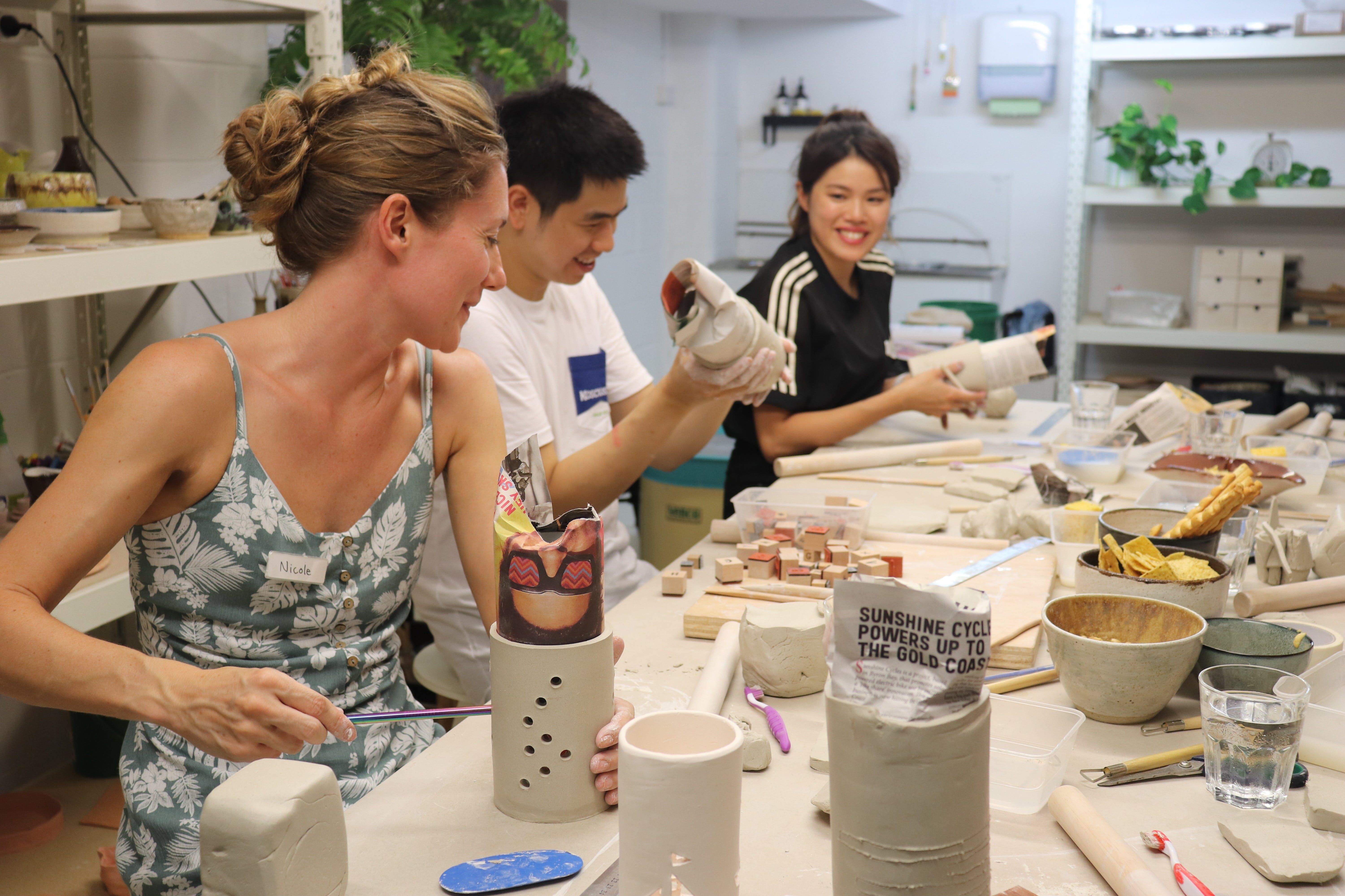 Hand Building Pottery Classes - Australia Accommodation