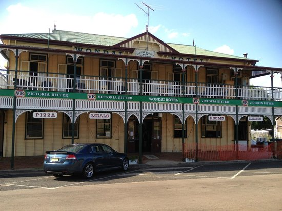 The Wondai Hotel  Cellar - Australia Accommodation